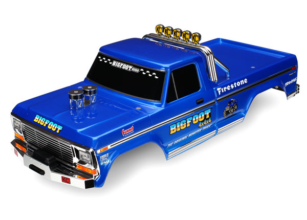 Traxxas Body, Bigfoot No. 1, Officially Licensed replica (painte
