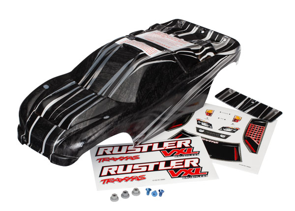 Traxxas Body, Rustler VXL, ProGraphix (replacement for the paint