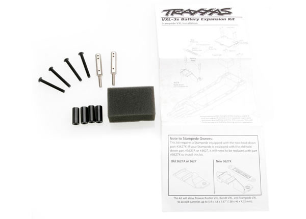 Traxxas Battery Expansion Kit (Rustler/Bandit/Stampede)