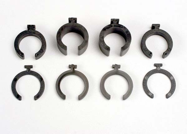 Traxxas Spring pre-load spacers: 1mm (4)/ 2mm (2)/ 4mm (2)/ 8mm