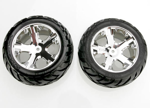 Traxxas Anaconda Tires & wheels, assembled (Rear)