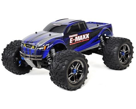 Traxxas E-Maxx RTR Brushless 4WD Monster Truck Blue