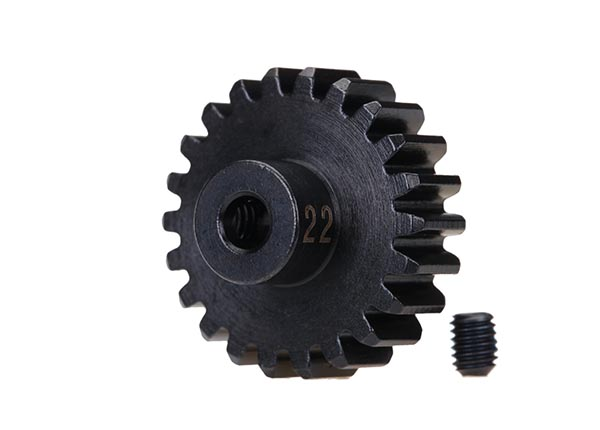 Traxxas 32P Pinion Gear (22), heavy duty (machined, hardened ste