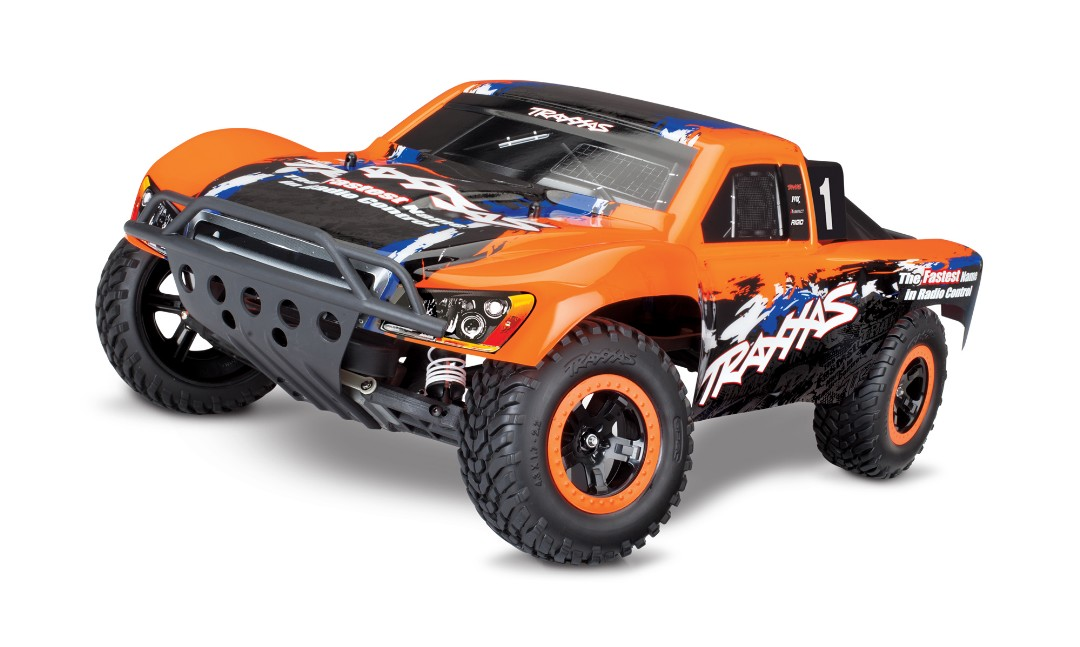 Traxxas Nitro Slash 3.3 1/10 2WD RTR SC Truck Orange