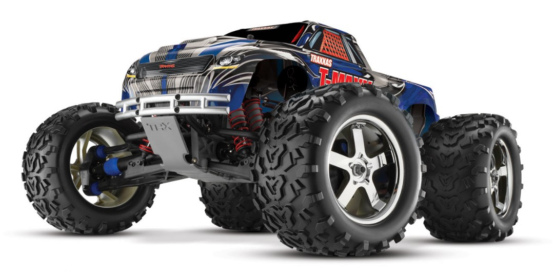 Traxxas T-Maxx 3.3 4WD RTR Nitro Monster Truck Blue