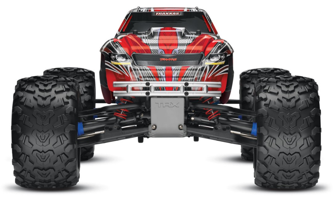 Traxxas T-Maxx 3.3 4WD RTR Nitro Monster Truck Red