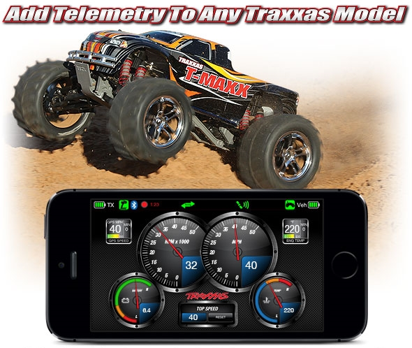 Traxxas T-Maxx Classic: 1:10 Scale Nitro Powered 4WD Maxx