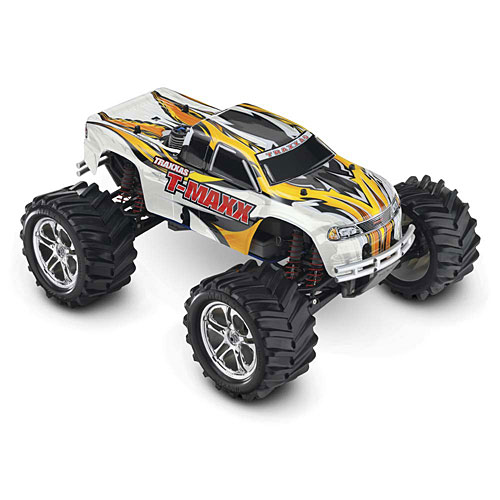 Traxxas T-Maxx Classic/ 1/10 Scale Nitro Powered 4WD Maxx