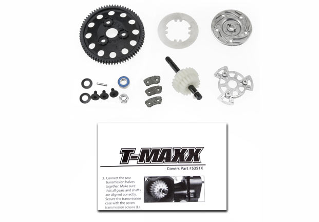 Traxxas T-Maxx Torque Control Slipper Upgrade Kit (Fits First Ge