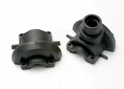 Traxxas Revo Housings, differential (front & rear)