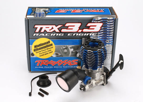Traxxas Traxxas 3.3 Engine Multi Shaft w/ Recoil Starter