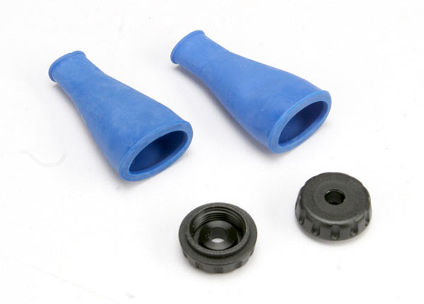 Dust boot, shock (expandable, seals and protects shock shaft)(1