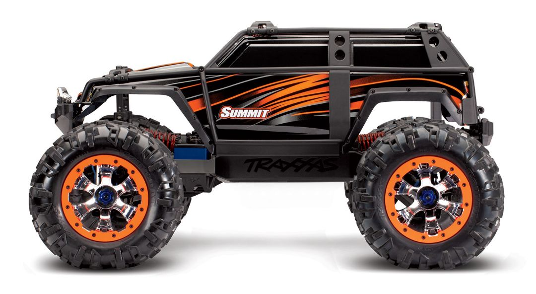 Traxxas Summit RTR 4WD Monster Truck OrangeX with TQi