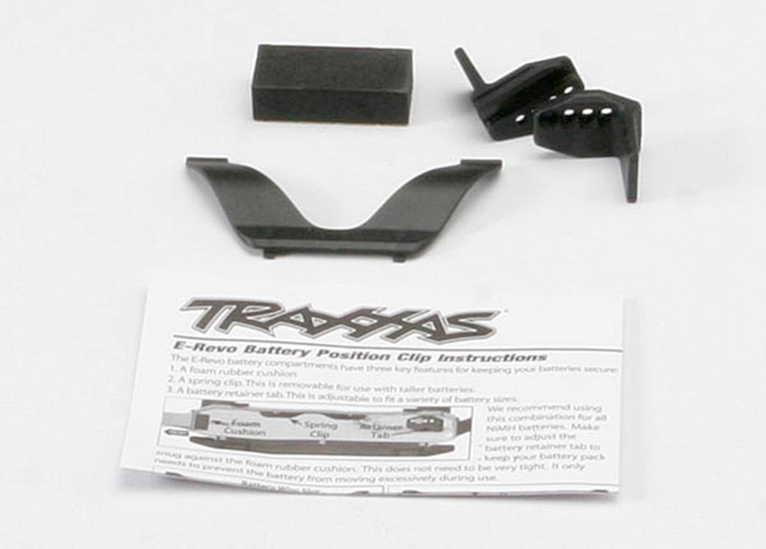 Traxxas Battery Retainer Clip Set