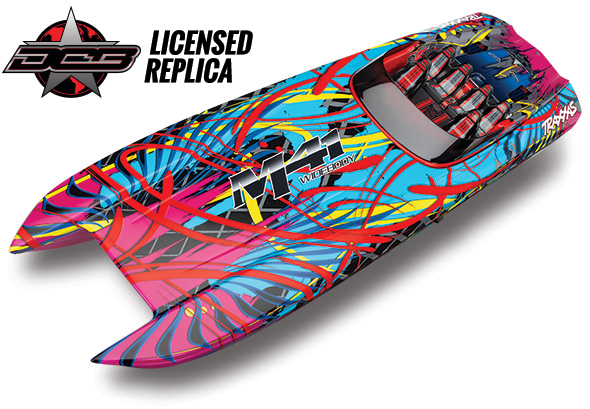 "Traxxas DCB M41 Widebody 40"" Catamaran Race Boat"