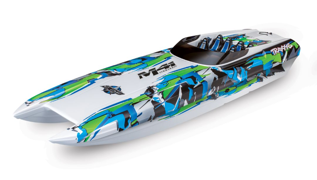 "Traxxas DCB M41 Widebody 40"" Catamaran Race Boat Green"