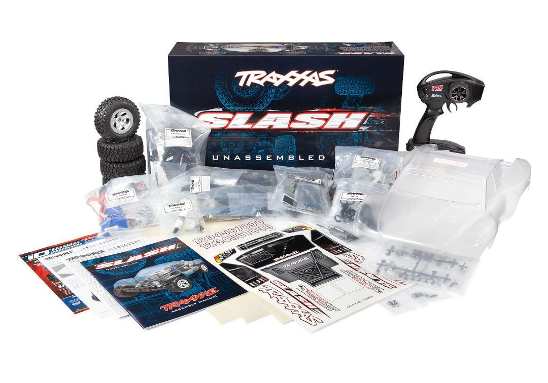 Traxxas Slash Assembly Kit: 1/10 Scale 2wd Short Course Truck