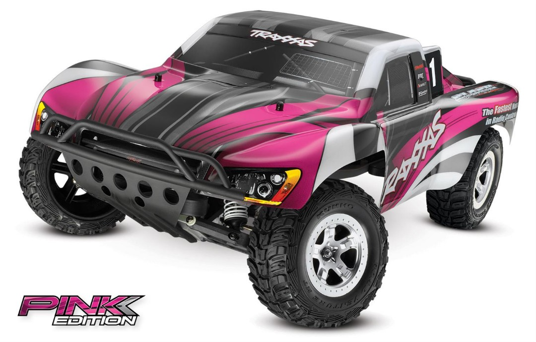 Traxxas Slash 2WD 1/10 Pink, Brushed, No Battery/Charger