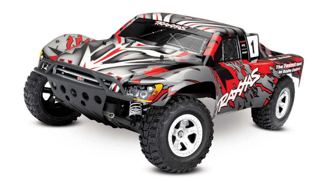 Traxxas Slash 2WD 1/10 Red, Brushed, No Battery/Charger