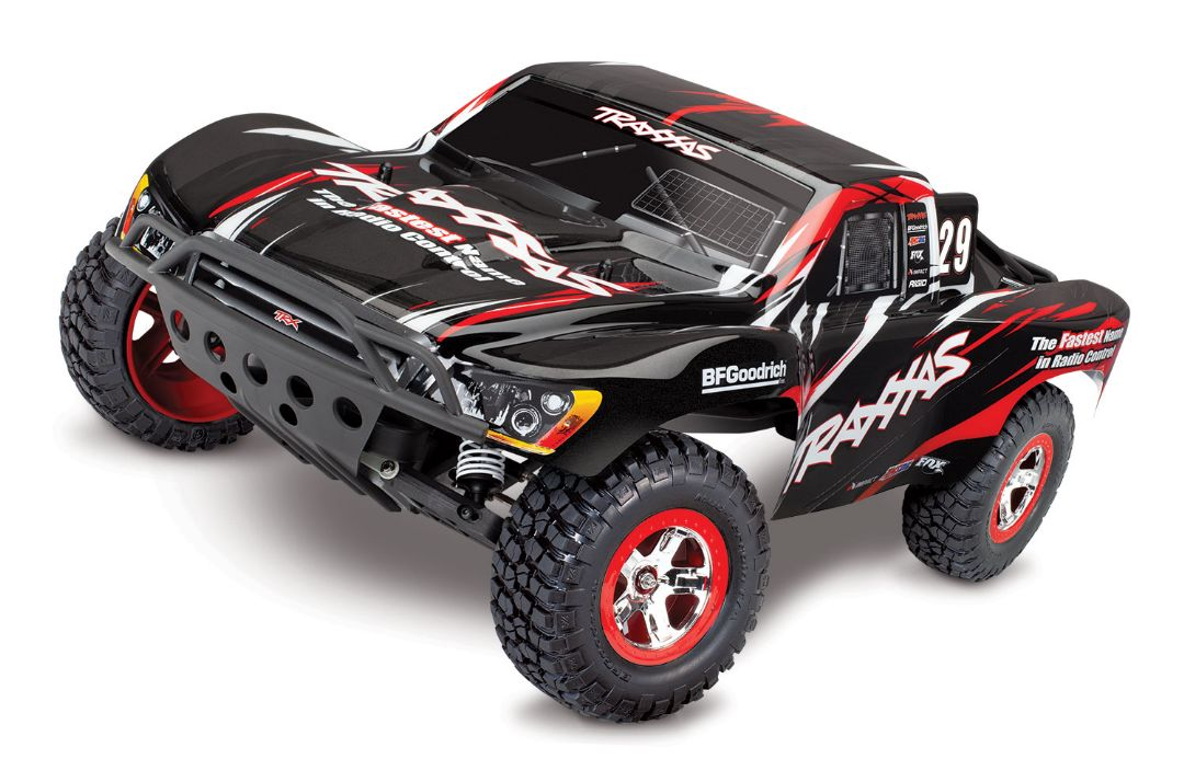 Traxxas Slash RTR 2WD Brushed with Battery & Charger - Black