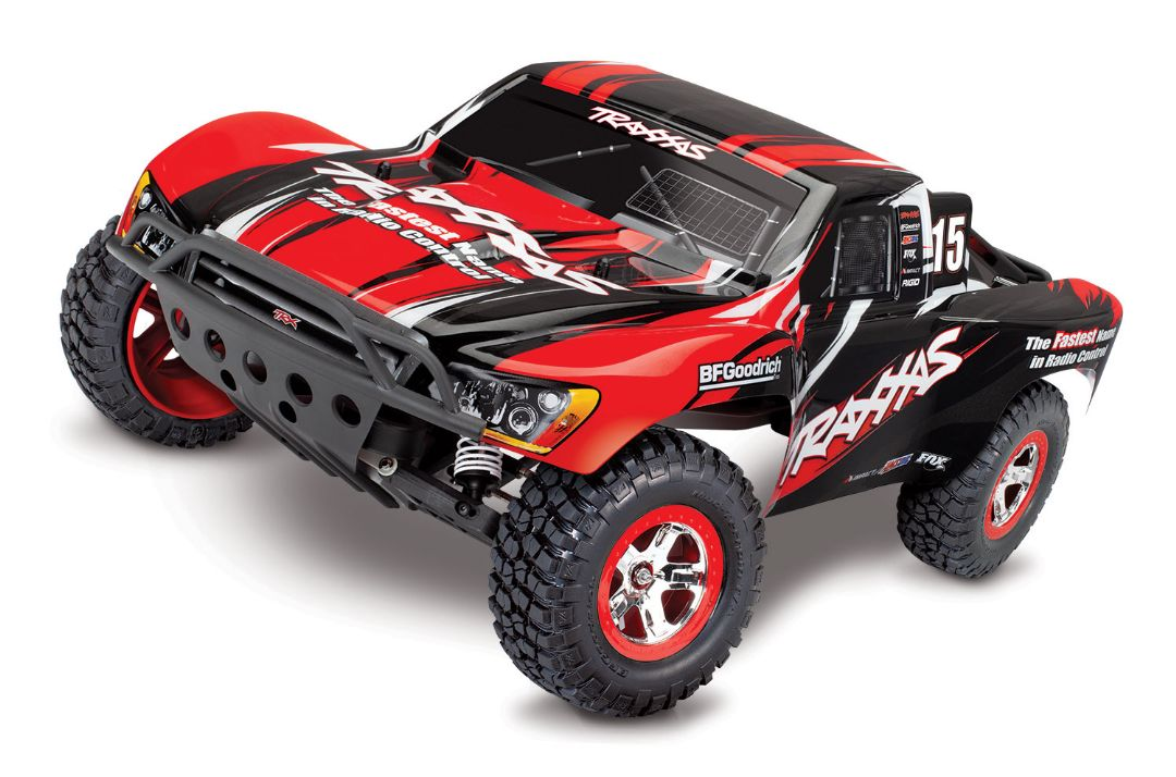 Traxxas Slash RTR 2WD Brushed with Battery & Charger - Red