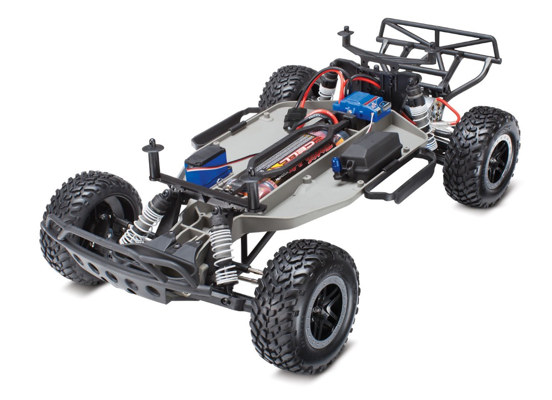 Traxxas Slash RTR 2WD Brushed with Battery & Charger - Click Image to Close