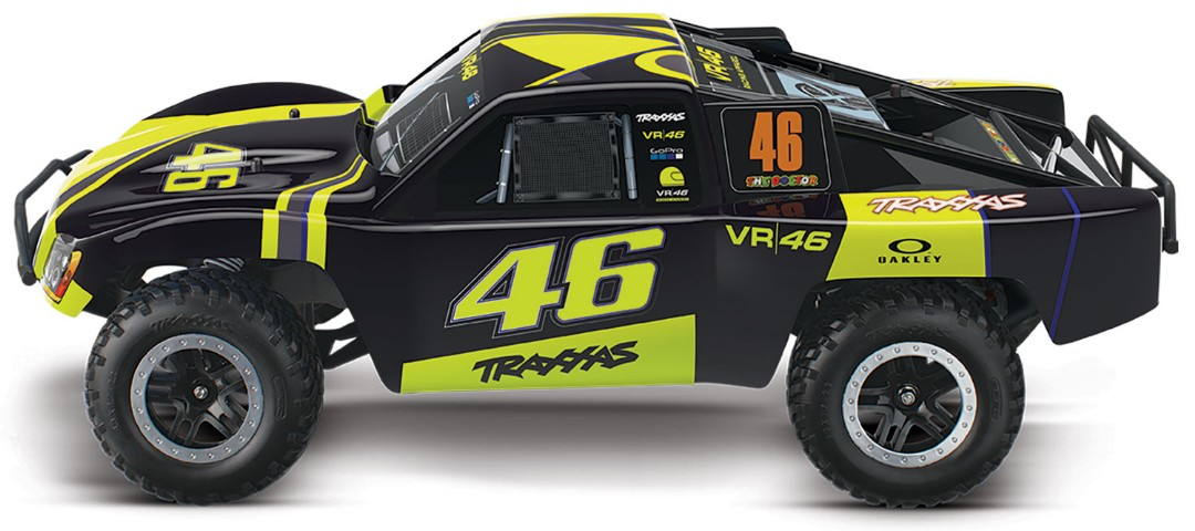 Traxxas Slash RTR 2WD Brushed with Battery & Charger - VR46
