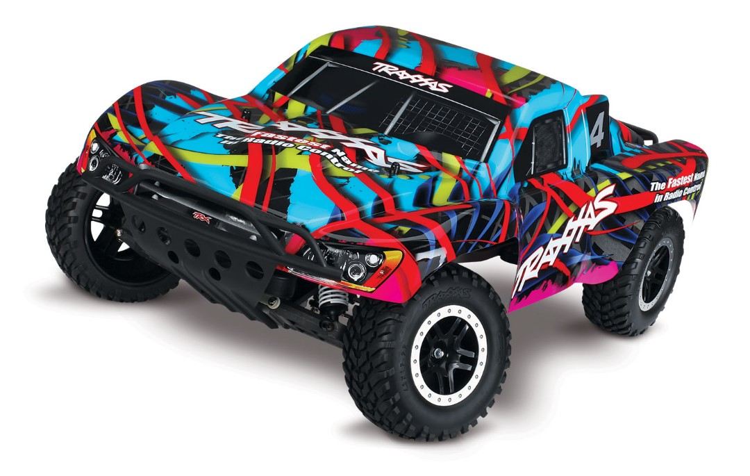 Traxxas Slash VXL Brushless 1/10 RTR Short Course Truck Hawaiian