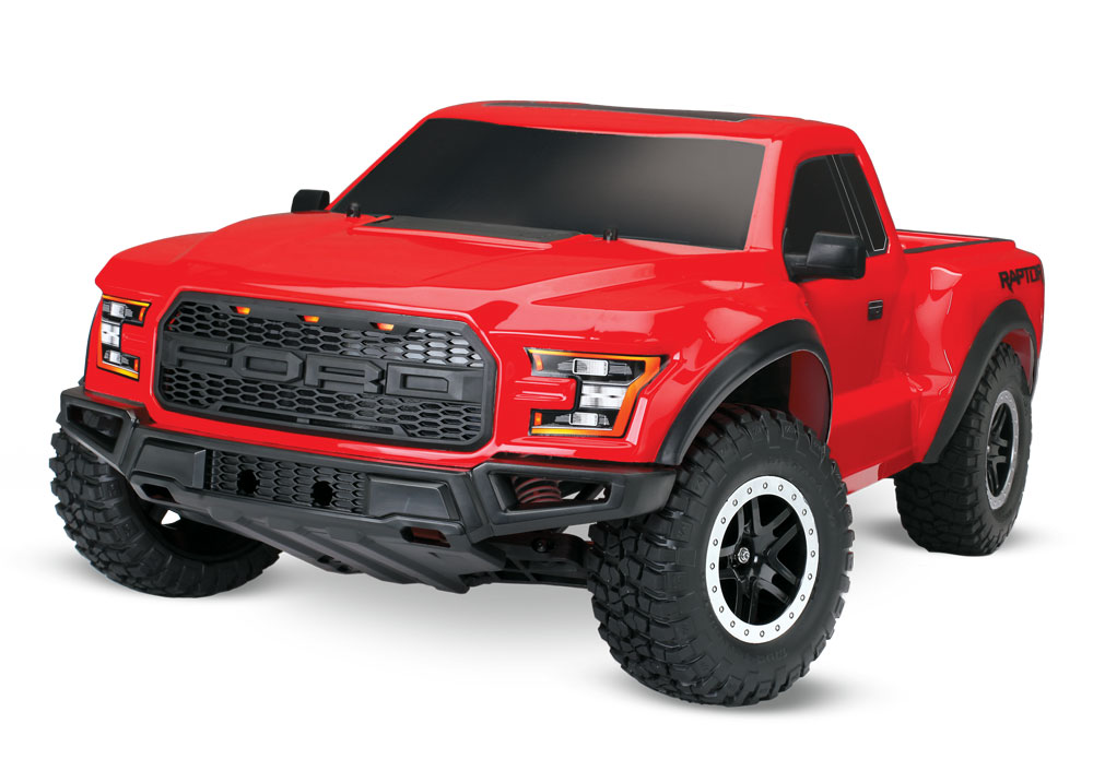Traxxas Red 2017 Ford Raptor RTR 1/10 2WD Truck