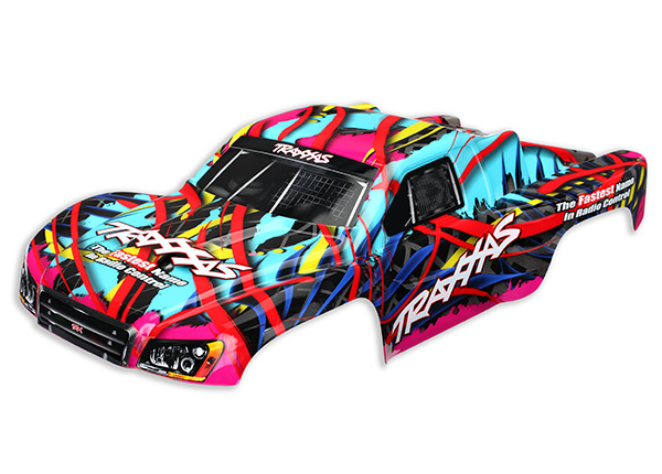 Traxxas Body, Slash 4X4, Hawaiian graphics (painted, decals appl