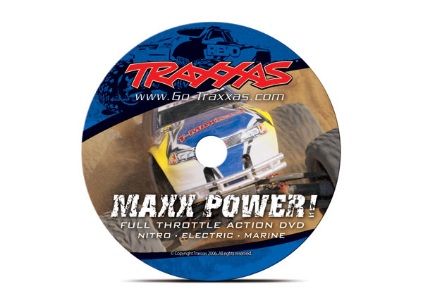 Traxxas DVD, MAXX Power! Full Throttle