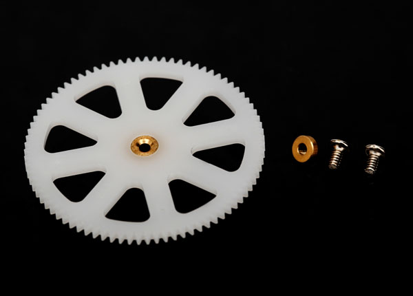 Traxxas Main Gear, Lower (1) (For Inner Main Shaft)/ Bushing (1)
