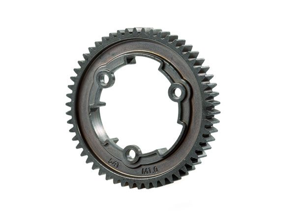 Traxxas Spur gear, 54-tooth, steel (wide-face, 1.0 metric pitch)