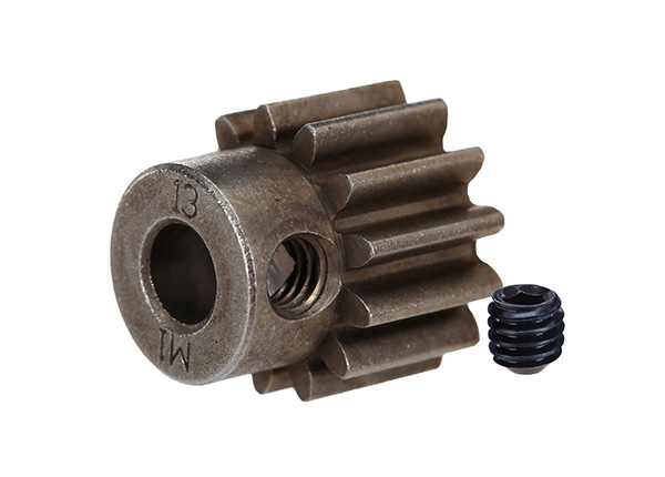 Gear, 13-T pinion (1.0 metric pitch) (fits 5mm shaft)
