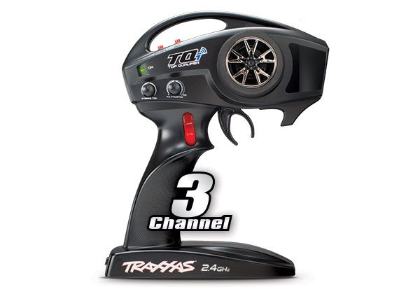 Transmitter, TQi Traxxas Link enabled, 2.4GHz high output, 3-cha