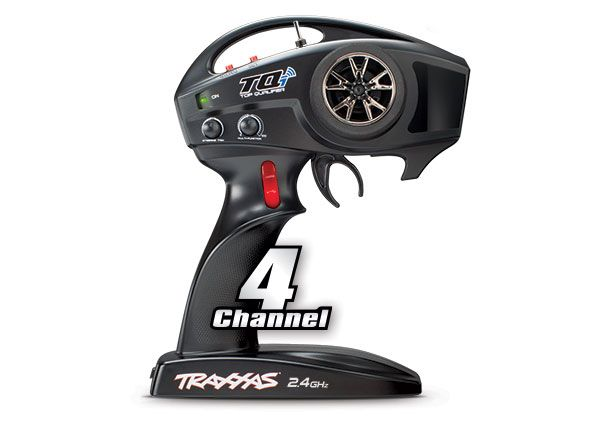 Transmitter, TQi Traxxas Link enabled, 2.4GHz high output, 4-cha