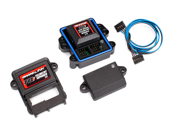 Traxxas Telemetry Expander 2.0 and GPS module 2.0 for TQi radio