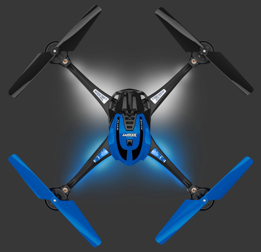 Traxxas LaTrax Alias Ready-To-Fly Micro Electric Quadcopter Blue