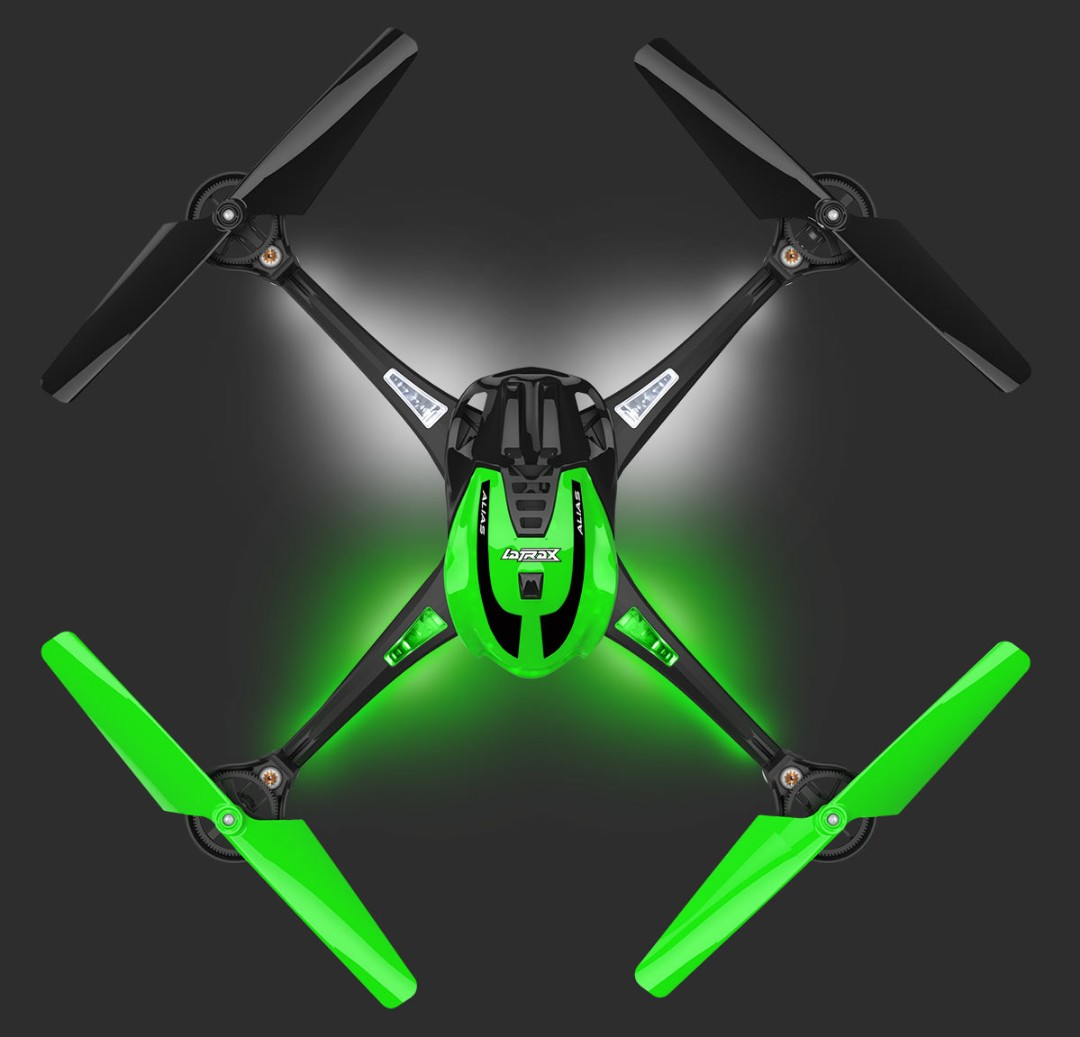 Traxxas LaTrax Alias RTF Micro Electric Quadcopter Green