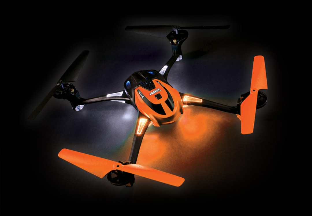 Traxxas LaTrax Alias RTF Micro Electric Quadcopter Drone Orange