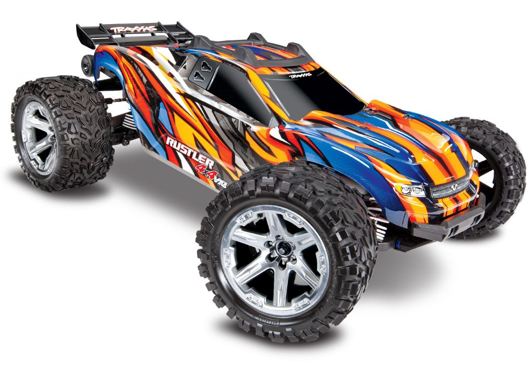 Traxxas Rustler VXL Brushless 1/10 RTR 4x4 Stadium Truck Orange