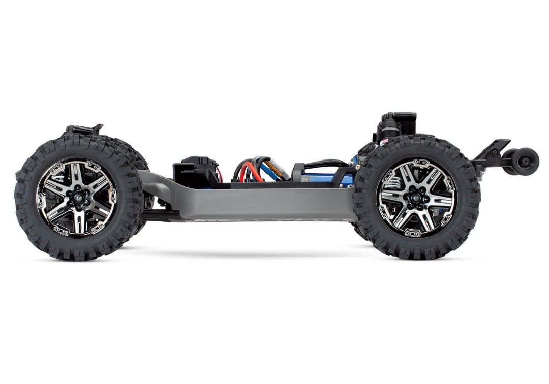 Traxxas Rustler VXL Brushless 1/10 RTR 4x4 Stadium Truck - Red - Click Image to Close