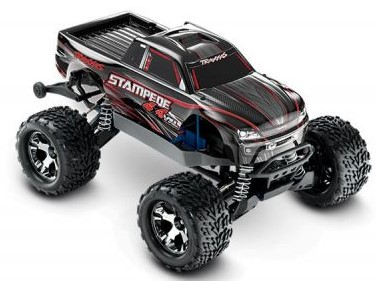 Traxxas Stampede 4X4 VXL Brushless 1/10 4WD RTR Black