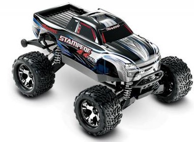 Traxxas Stampede 4X4 VXL Brushless 1/10 4WD RTR Silver