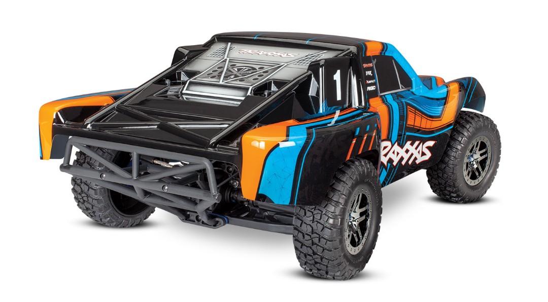 Traxxas Slash 4X4 Ultimate Short Course Truck Orange - Click Image to Close