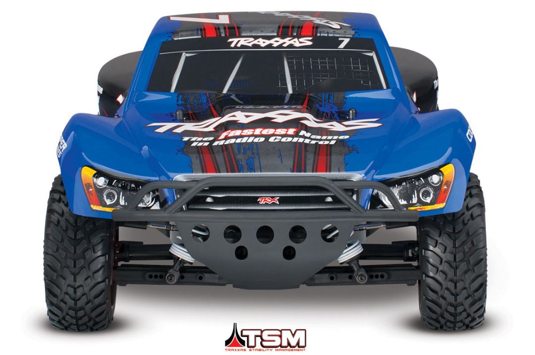 Traxxas Slash 4X4 Brushless 1/10 4WD RTR Short Course Truck Blue