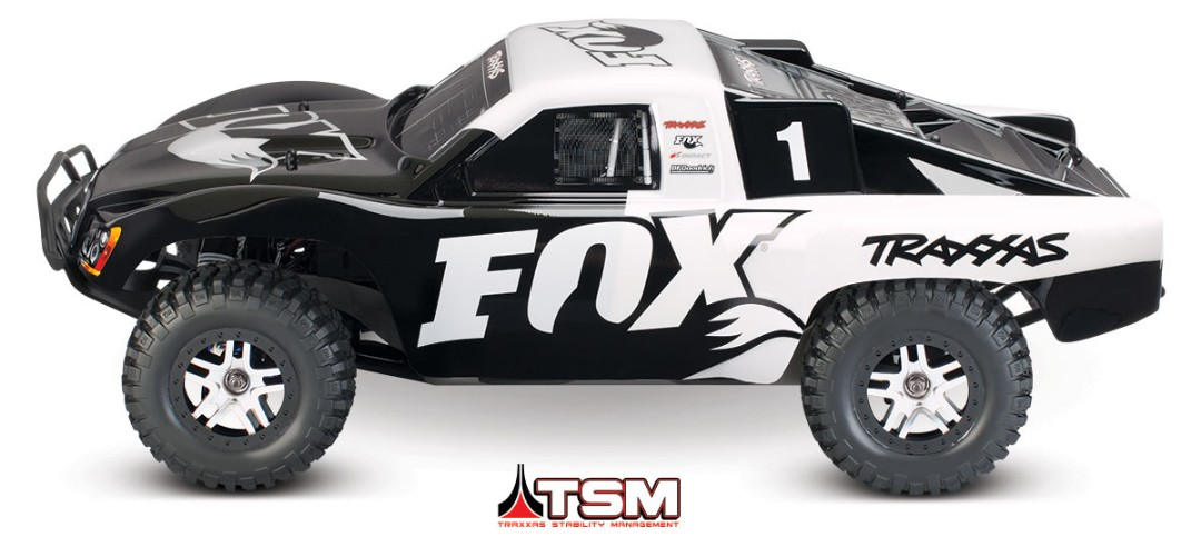 Traxxas Slash 4X4 Brushless 1/10 4WD RTR Short Course Truck Fox