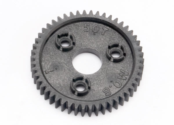 Traxxas Spur gear, 50-tooth (0.8 metric pitch, compatible with 3