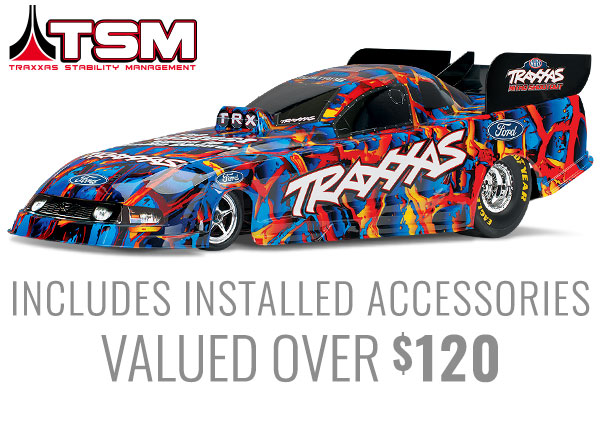 Traxxas 1/8th Electric RTR Funny Car Special Edition