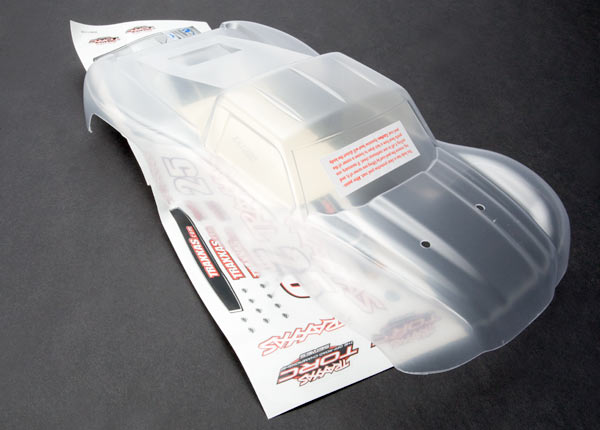 Traxxas 1/16 Slash Body (Clear)